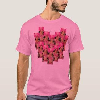 tshirt samba dance girl pink brazil heart