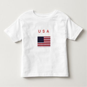 Tshirt    Usa   Flag    Red  White   Blue by CREATIVEforKIDS at Zazzle