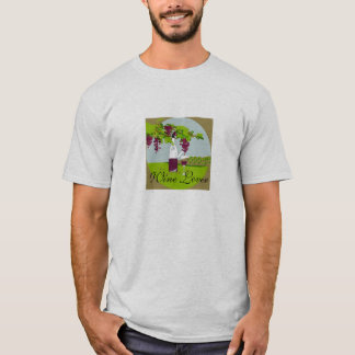 "tshirt_""WINE LOVER"" #2 PATTERN T-Shirt"