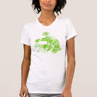 Tshirt (womens) - Skull & Rose