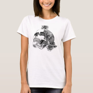 Tshirt (womens) - Skull & Roses