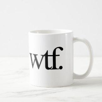 tshirt_wtf classic white coffee mug