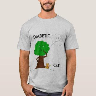 TshirtNoLinesColorSav-1, DIABETIC, CAT T-Shirt