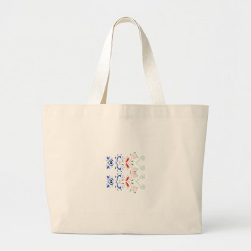 Professional Business Tshirts with Ornaments Large Tote Bag
