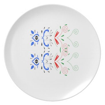 Tshirts with Ornaments Plate