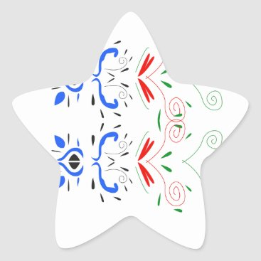 Professional Business Tshirts with Ornaments Star Sticker