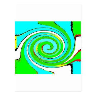 TSI Colours Postcard