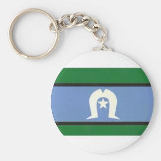 TSI Flag Keychain