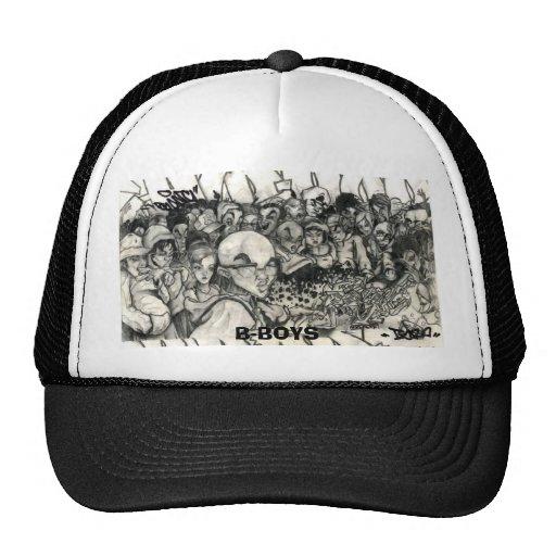 tsk_hiphop_bboy, B-BOYS Trucker Hats