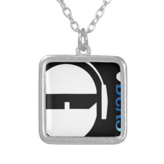 TSP Logo Silver Plated Necklace