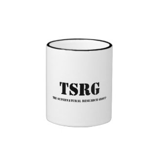 TSRG, The Supernatural Research Group Ringer Coffee Mug