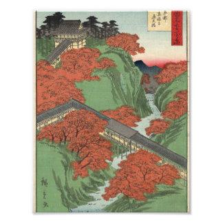 Tsūten Bridge, Tōfukuji Temple at Kyōto. Photo Print