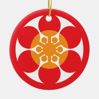 Tsubaki Japanese Restaurant 05 Ceramic Ornament