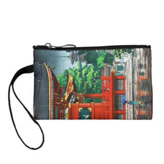 Tsuchiya Koitsu Asakusa Kannondo Temple shin hanga Change Purse