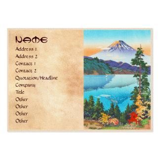 Tsuchiya Koitsu Lake Ashi in the Hakone Hills Business Cards