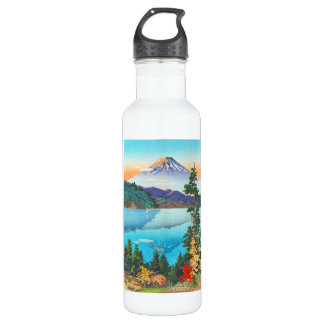 Tsuchiya Koitsu Lake Ashi in the Hakone Hills 24oz Water Bottle