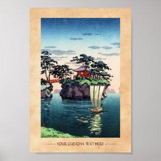 Tsuchiya Koitsu  Matsushima shin hanga scenery Posters