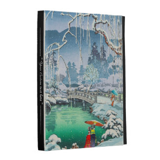 Tsuchiya Koitsu Sketches of Famous Places In Japan iPad Folio Cover