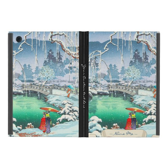 Tsuchiya Koitsu Sketches of Famous Places In Japan Case For iPad Mini