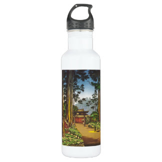 Tsuchiya Koitsu Sketches of Famous Places In Japan 24oz Water Bottle
