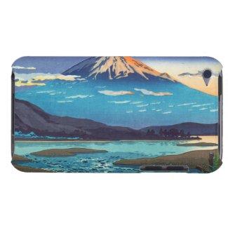 Tsuchiya Koitsu Tokaido Fujikawa landscape art Barely There iPod Covers