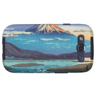 Tsuchiya Koitsu Tokaido Fujikawa landscape art Galaxy SIII Cases