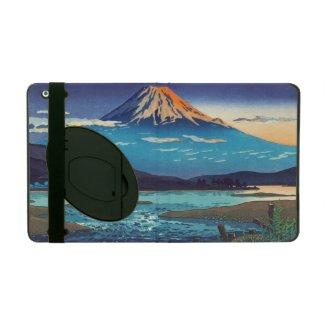 Tsuchiya Koitsu Tokaido Fujikawa landscape art iPad Folio Cases