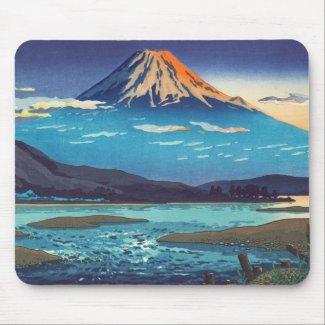 Tsuchiya Koitsu Tokaido Fujikawa landscape art Mousepad