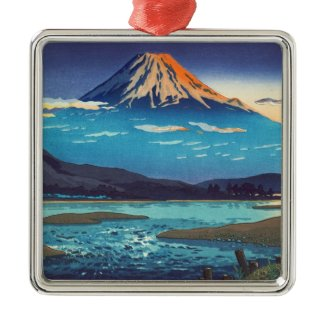 Tsuchiya Koitsu Tokaido Fujikawa landscape art Ornaments