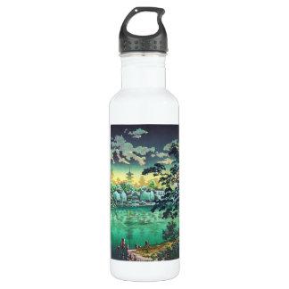 Tsuchiya Koitsu Ueno Shinobazu Pond art Water Bottle