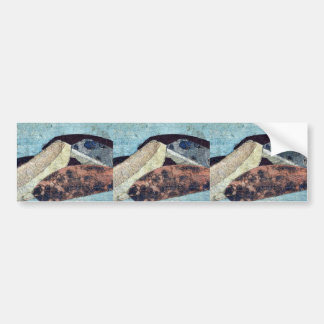 Tsuchiyama by Katsushika, Hokusai Ukiyoe Bumper Stickers