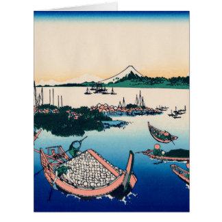 Tsukada Island in the Musashi province Card