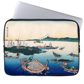 Tsukada Island in the Musashi province Laptop Computer Sleeve