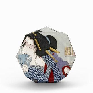 Tsukioka Yoshitoshi (月岡 芳年) - Looking in Pain Acrylic Award
