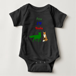 TSULA - Cherokee Fox Apparel Baby Bodysuit