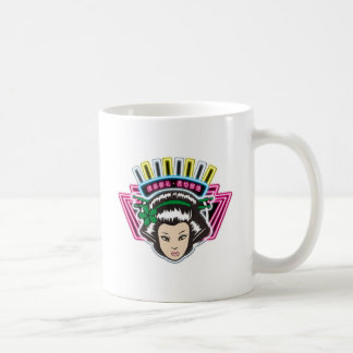 TSUNAGI - Mexico Classic White Coffee Mug