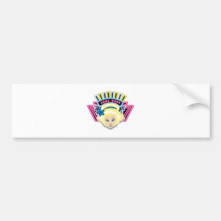 TSUNAGI - Sweaden Bumper Sticker