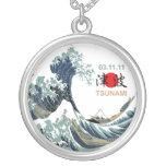 Tsunami 2011 de Japón Pendiente Personalizado