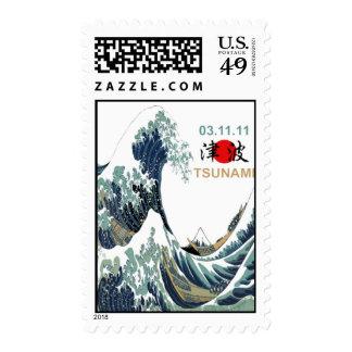 Tsunami 2011 de Japón Sellos