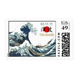Tsunami 2011 de Japón Sellos Postales
