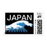 Tsunami 2011 de Japón - sobreviví Sello