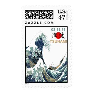 Tsunami 2011 de Japón Timbre Postal