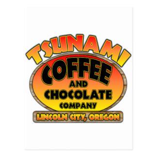 Tsunami Coffee & Chocolate Company Postcard