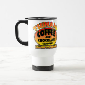Tsunami Coffee & Chocolate Company Travel Mug