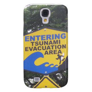 Tsunami Evacuation Galaxy S4 Cover