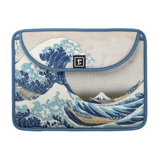 Tsunami Great Wave Sleeve For MacBooks