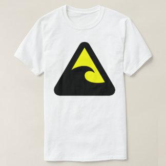 Tsunami Hazard Sign T-Shirt
