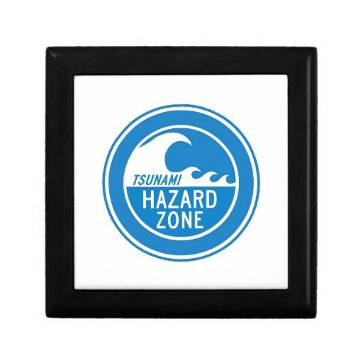 TSUNAMI HAZARD ZONE GIFT BOX