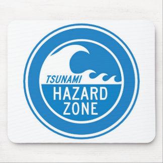 TSUNAMI HAZARD ZONE MOUSE PAD