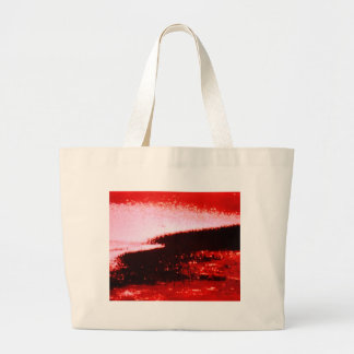 Tsunami inminente bolsa lienzo